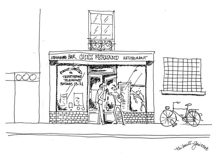 Fernand dessin Pantin
